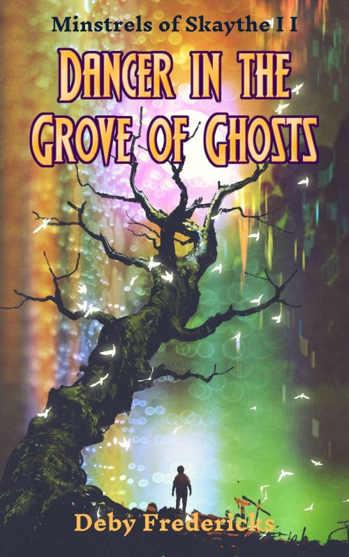 Book cover for Dancer in the Grove of Ghosts